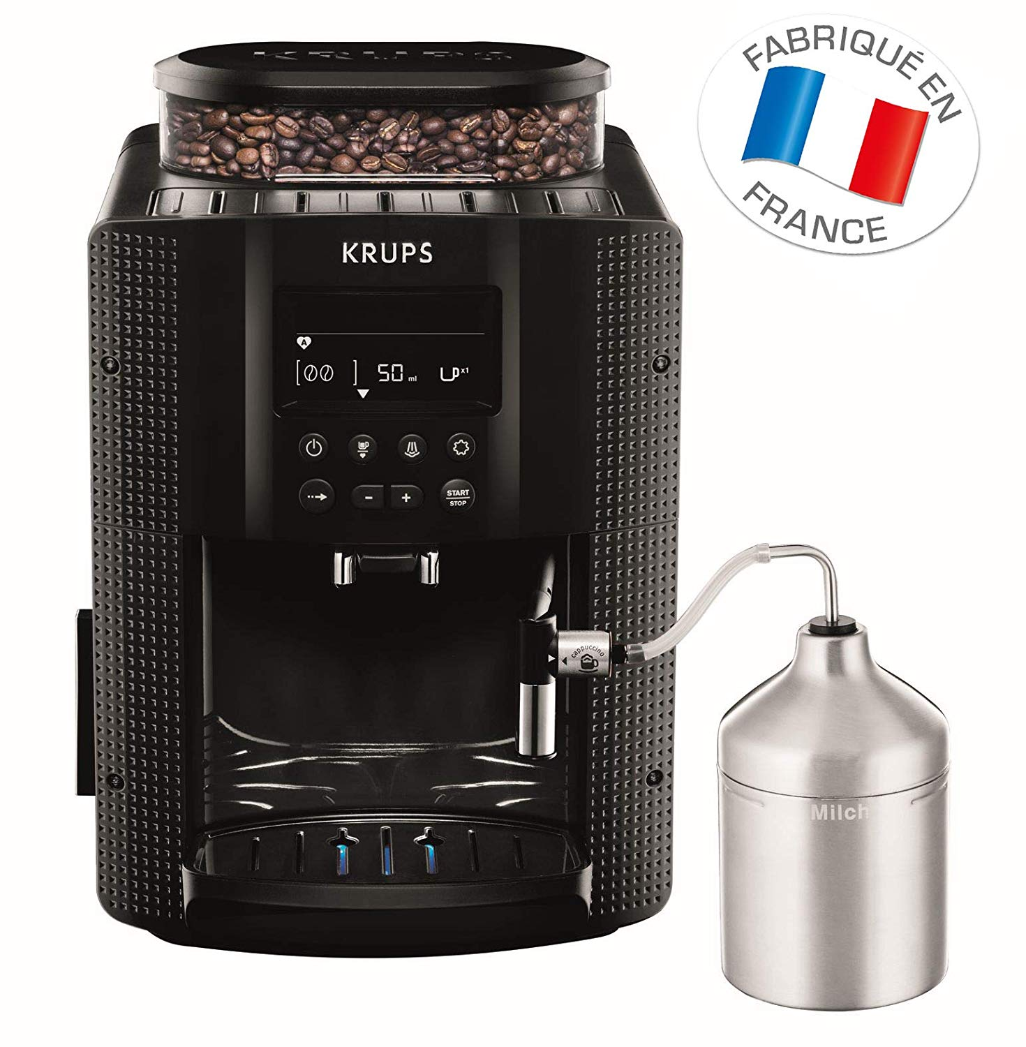 Machine à café automatique avec broyer à grains Krups Expresso EA816031